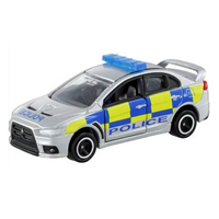 【 TOMICA 】TM039 MITSUBISHI LANCER EVOLUTION X BRITISH POLICE TYPE