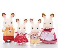 東喬精品百貨商城:【EPOCH】森林家族-可可兔家庭組