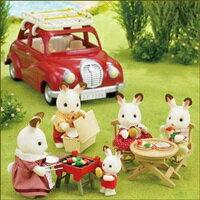 【EPOCH】森林家族-家庭車野餐烤肉組