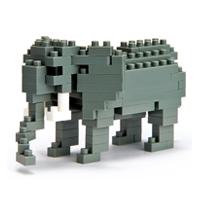 【 nanoblock 】NBC-035 非洲象 African Elephant