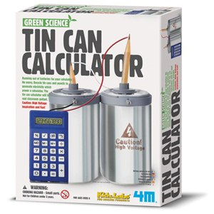 《4M科學探索》Tin Can Calculator 環保計算機