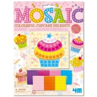 【 4M美勞創作】Mosaic Colourful Cupcake Delights杯子蛋糕馬賽克