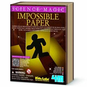 ~4M科學探索~科學魔術 ~ Impossible Paper 魔法紙雕