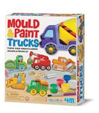 【 4M 】Mould & Paint Glitter Springtime Friends 建築工程車磁鐵