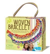 【 4M 美勞創作】Woven Bracelet 好朋友藝術編織手環