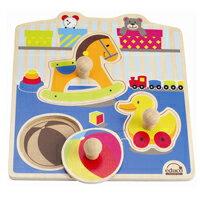 【 educo 愛傑卡 】可愛玩具木拼圖