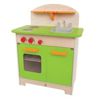 【免運費】《 德國 Hape 愛傑卡》角色扮演廚房系列-大型廚具台