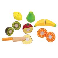 【免運費】《 德國 Hape 愛傑卡》角色扮演廚房系列 主廚水果組