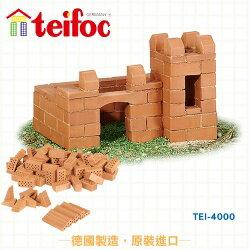 【德國 teifoc】DIY 益智磚塊建築玩具 - TEI4000