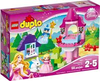 樂高積木 LEGO《 LT10542 》2014 年 Duplo 幼兒系列 - Sleeping Beauty's Fairy Tale