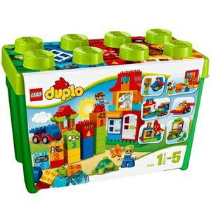 樂高積木 LEGO《 LT10580 》2014 年 Duplo 幼兒系列 - 豪華樂趣箱
