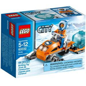 樂高積木 LEGO《 LT60032 》2014 年 CITY 城市系列 - 北極雪地摩托車