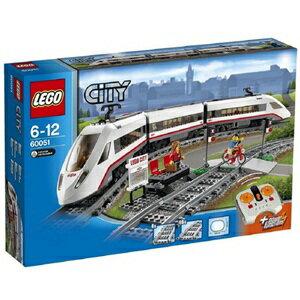 樂高積木 LEGO《 LT60051 》2014 年 CITY 城市系列 - 高速旅客列車