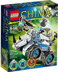 樂高積木 LEGO《 LT 70131 》2014 Chima 系列 > 犀角霸Rogon 的投石車機