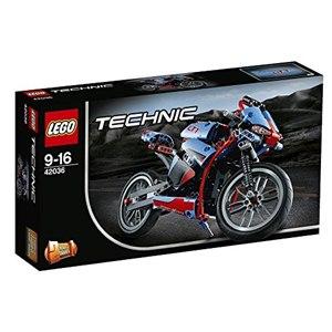 樂高積木LEGO《 LT42036 》2015 年 Technic 科技系列 - 街道摩托車