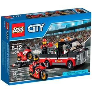 樂高積木LEGO《 LT60084 》2015 年 CITY 城市系列 - 競賽自行車運輸車