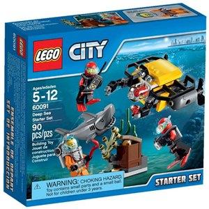 樂高積木LEGO《 LT60091 》2015 年CITY 城市系列 - 深海探險入門套裝