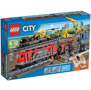 樂高積木LEGO《 LT60098 》2015 年CITY 城市系列 - 巨型貨運列車