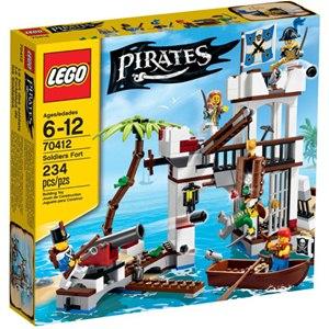 樂高積木LEGO《 LT70412 》2015 年 PIRATES 海盜系列 - 士兵堡壘
