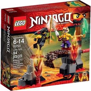 樂高積木LEGO《 LT70753 》2015 年Ninjago 旋風忍者系列 - 熔岩瀑布