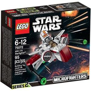 樂高積木LEGO《 LT75072 》2015 年 STAR WARS 星際大戰系列 - ARC-170 Starfighter™