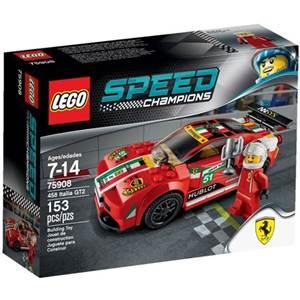 樂高積木 LEGO《 LT75908 》2015 年 SPEED CHAMPIONS 系列 - 458 Italia GT2