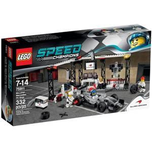 樂高積木 LEGO《 LT75911 》2015 年 SPEED CHAMPIONS 系列 - McLaren Mercedes Pit Stop