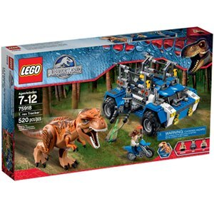 樂高積木 LEGO《 LT 75918 》Jurassic World 侏儸紀世界系列 > T-rex Tracker