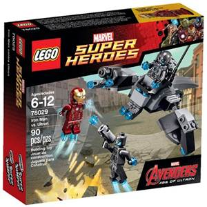 樂高積木 LEGO《 LT76029 》2013 年 SUPER HEROES 超級英雄系列 Iron Man vs. Ultron
