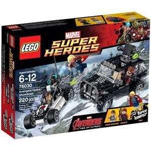 樂高積木 LEGO《 LT76030 》2015 年 SUPER HEROES 超級英雄系列 > 復仇者聯盟vs九頭蛇