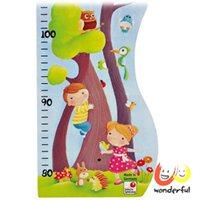 免運費【Selecta】可摺疊如夢森林身高木尺 (德國製)