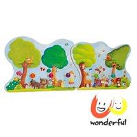 彌月禮盒推薦【Selecta】可摺疊如夢森林掛衣木板