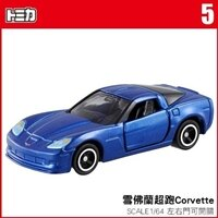 【 TOMICA 】TM005 CHEVROLET CORVETTE Z06