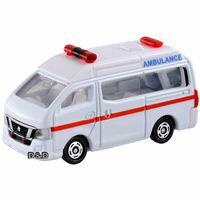 【 TOMICA 】TM018 日產 NV350 救護車