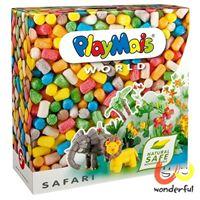 【Playmais】玩玉米創意黏土主題禮盒 - 非洲草原