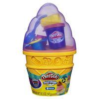 【 Play-Doh 培樂多 】迷你蛋捲冰淇淋遊戲組