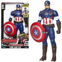 漫威英雄Marvel 周邊商品推薦《 MARVEL THE AVENGERS 》復仇者聯盟2 - 美國隊長聲光人物遊戲組