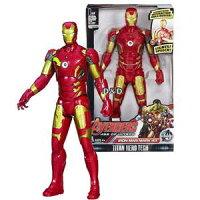 漫威英雄Marvel 周邊商品推薦《 MARVEL THE AVENGERS 》復仇者聯盟2 - 鋼鐵人聲光人物遊戲組