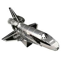 《 Tenyo 》金屬微型模型拼圖 TMN-10 阿特蘭蒂斯號太空梭