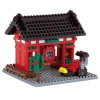 《Nano Block迷你積木》【世界主題建築系列】NBH-054 日本-雷門 (人力車版)