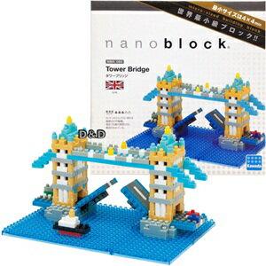 《Nano Block迷你積木》【 世界主題建築系列 】NBH - 065 倫敦塔橋