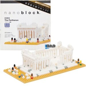 《Nano Block迷你積木》【 世界主題建築系列 】NBH - 066 帕德嫩神殿