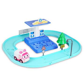 《 POLI 波力 》安寶電動車與充電站遊戲