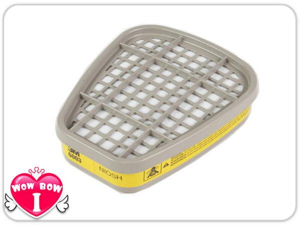 ?愛挖寶?【3M-6003】有機酸性氣體 濾毒罐 噴農藥使用 適用6200/7502口罩 1包2入