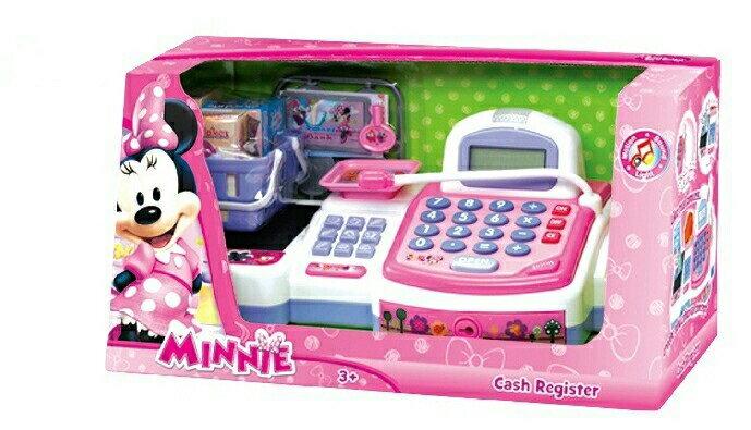 【winnie小舖】迪士尼美妮掃描收銀機遊戲組 玩具