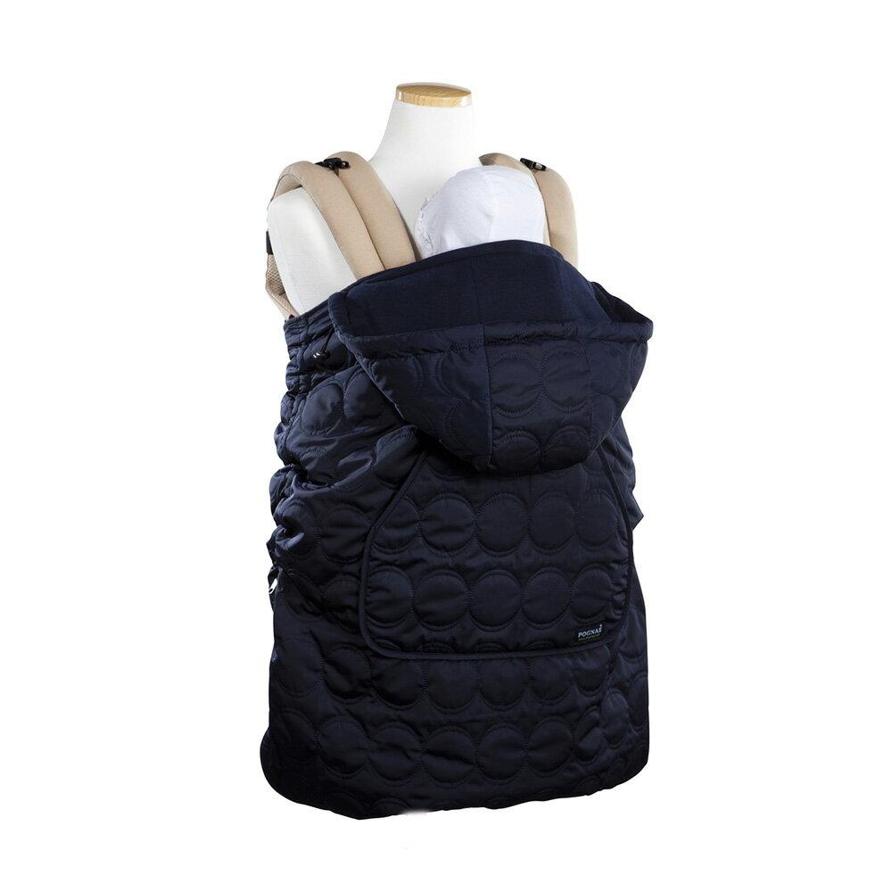 【淘氣寶寶】韓國 Pognae 秋冬多功能防風保暖袍-藍色【適合每款背巾】