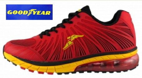 【巷子屋】GOODYEAR固特異 極速霸主男款KPU緩震氣墊慢跑鞋 63302 63303 63306 超值價$1036