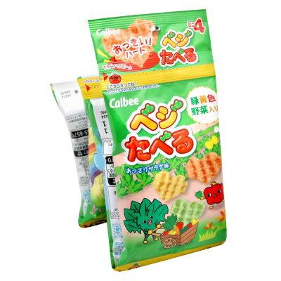 Calbee卡魯比野菜餅4連包 (40g)