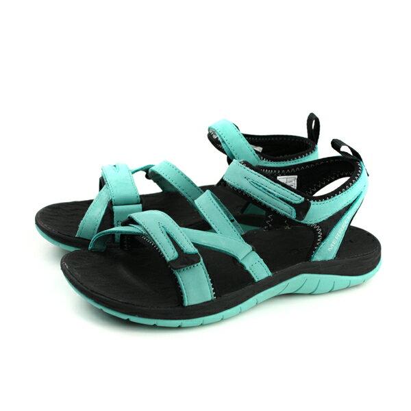 MERRELLSIRENSTRAPQ2涼鞋湖水綠女鞋ML12712no914