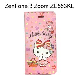Hello Kitty 彩繪皮套 [野餐] ASUS ZenFone 3 Zoom ZE553KL (5.5吋)【三麗鷗正版授權】